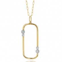 Phillips House 14k Yellow Gold Diamond Necklace - N0805DY-JB