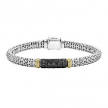 Lagos Sterling Silver Diamond Lux Diamond Bracelet - 05-81261-BDM