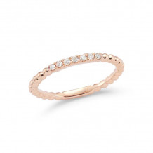 Dana Rebecca 14k Rose Gold Poppy Rae Diamond Band - R906