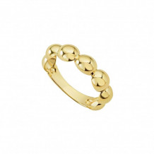 Lagos 18k Yellow Gold Caviar Ring