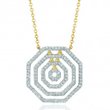 Phillips House 14k Yellow Gold Hero Layer Diamond Necklace - N3007DY