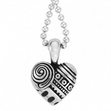 Lagos Sterling Silver Hearts of LAGOS Heart of Philadelphia Pendant - 07-80136-S