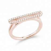 Dana Rebecca 14k Rose Gold Sylvie Rose Diamond Ring - R582-7