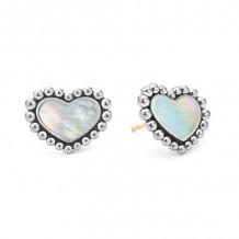 Lagos Silver Stud Earrings - 01-81941-WZ