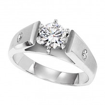 Lieberfarb Platinum Diamond Engagement Ring - ED70800