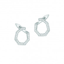Phillips House 14k White Gold Hero Fan Diamond Earrings - E3018DW