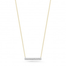 Dana Rebecca 14k Yellow Gold Sylvie Rose Diamond Necklace - N302