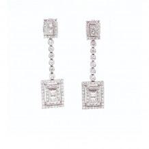 Jay Roberts 18k White Gold Earrings