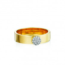 Phillips House 14k Yellow Gold Affair Stack Diamond Ring - R0105DY