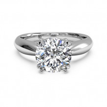 Ritani Solitaire Diamond Tulip Cathedral Engagement Ring - 1R7242