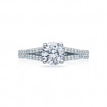 Tacori Platinum Simply Tacori Split Shank Engagement Ring