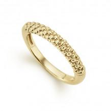 Lagos Caviar 18k Yellow Gold Ring - 03-10172-7