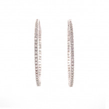 Jay Roberts 14k White Gold Earrings