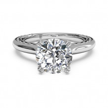 Ritani Solitaire Diamond Braided Engagement Ring - 1R2828