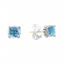 Lagos Sterling Silver Signature Gifts Gemstone Stud Earrings - 01-81166