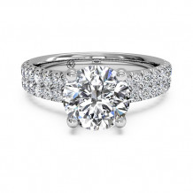 Ritani Double French-Set Band Engagement Ring - 1R1324