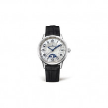 Jaeger-LeCoultre White Stainless Steel Diamond Rendez-Vous Men's Watch - 3468490