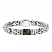 Lagos Sterling Silver Diamond Lux Diamond Bracelet - 05-81258-BDM