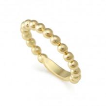 Lagos Caviar 18k Yellow Gold Ring - 03-10182-7
