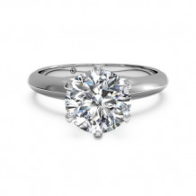 Ritani Solitaire Diamond Six-Prong Knife-Edge Engagement Ring - 1R7265