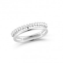 Dana Rebecca 14k White Gold Reese Brooklyn Diamond Rings - R1278