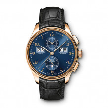 IWC 18k Rose Gold Portugieser Men's Watch