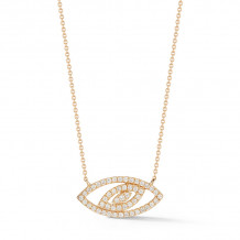 Dana Rebecca 14k Yellow Gold Carly Michelle Necklace - N1762
