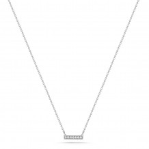 Dana Rebecca 14k White Gold Sylvie Rose Diamond Necklace - N205