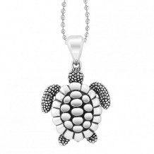 Lagos Sterling Silver Rare Wonders Sea Turtle Pendant