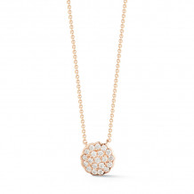 Dana Rebecca 14k Rose Gold Lauren Joy Diamond Necklace - N1823