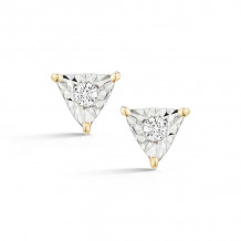 Dana Rebecca 14k Yellow Gold Emily Sarah Stud Earrings - E2746