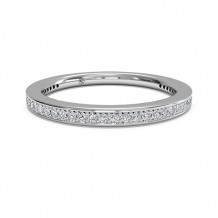 Ritani Women's Micropave Diamond Eternity Wedding Band - 31694
