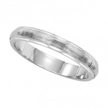 Lieberfarb Platinum Classic Wedding Band - L71804