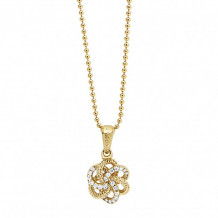Lagos 18k Yellow Gold Love Knot Pendant