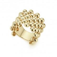Lagos Caviar 18k Yellow Gold Ring - 03-10195-7