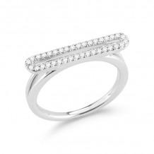 Dana Rebecca 14k White Gold Sylvie Rose Diamond Ring - R580-7