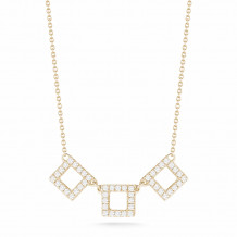 Dana Rebecca 14k Yellow Gold Allison Joy Diamond Necklace - N706-16