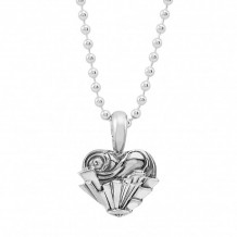 Lagos Sterling Silver Hearts of LAGOS Heart of Chicago Pendant - 07-80136-CH