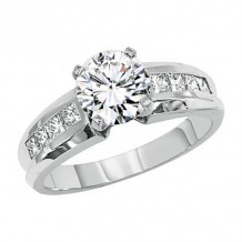 Lieberfarb Platinum Diamond Engagement Ring - ED70729