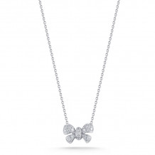 Dana Rebecca 14k White Gold Margo Ashley Diamond Necklace - N222-16