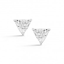 Dana Rebecca 14k White Gold Emily Sarah Stud Earrings - E2745