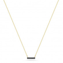 Dana Rebecca 14k Yellow Gold Sylvie Rose Bar Necklace - N261