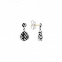 Lagos Sterling Silver Bold Caviar Stud Earrings - 01-81633-00