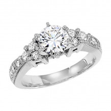 Lieberfarb Platinum Diamond Engagement Ring - ED70853