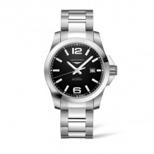 Longines Conquest Automatic Stainless Steel Men's Watch