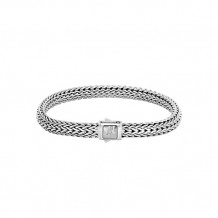 John Hardy Classic Chain Collection Hammered Bracelet - BB96185XM