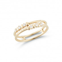 Dana Rebecca 14k Yellow Gold Reese Brooklyn Diamond Rings - R1276