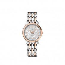 Omega De Ville Prestige Two Tone Watch - 424.20.27.60.52.002