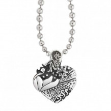 Lagos Sterling Silver Hearts of LAGOS Heart of Las Vegas Pendant - 07-80136-LV