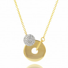 Phillips House 14k Yellow Gold Diamond Necklace - N1710DY